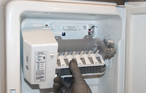 How to Replace Ice Maker from Kitchenaid French Door Refrigerator