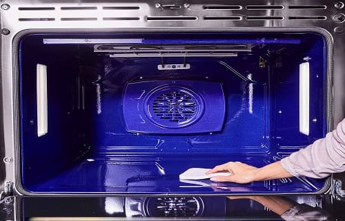 how to clean kitchenaid oven window
