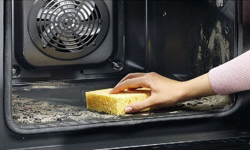 how to use self clean oven kitchenaid