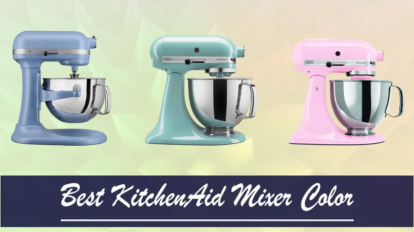 what is the most popular kitchenaid mixer color